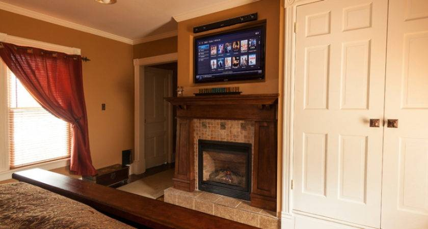 Above Fireplace Put Components Fireplaces