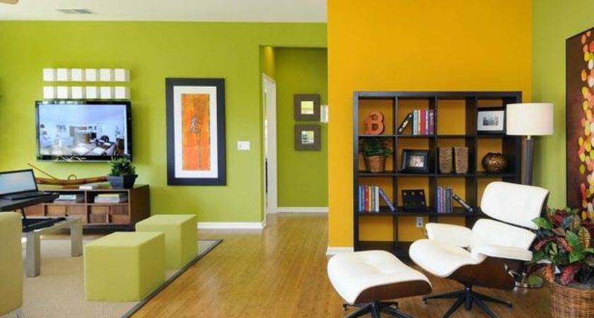 Accent Color Walls Living Room Home Decorating Ideas
