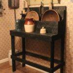 Accessories Great Black Primitive Dry Sink Your