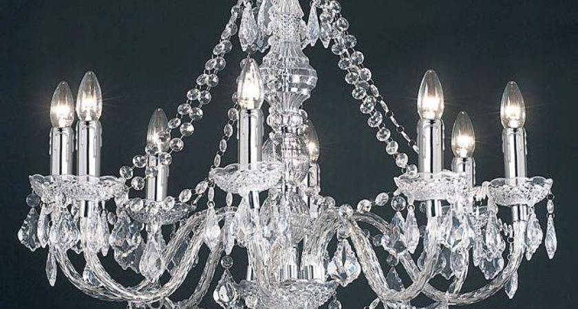 Acrylic Ceiling Chandelier Light Clear Droplets