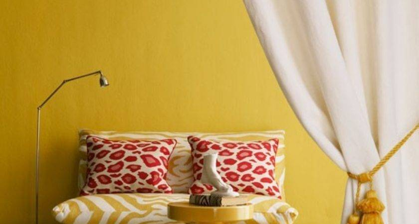 Add Colour Your Living Room Colourful