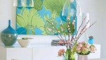 Add Splash Color Blue Green Decor