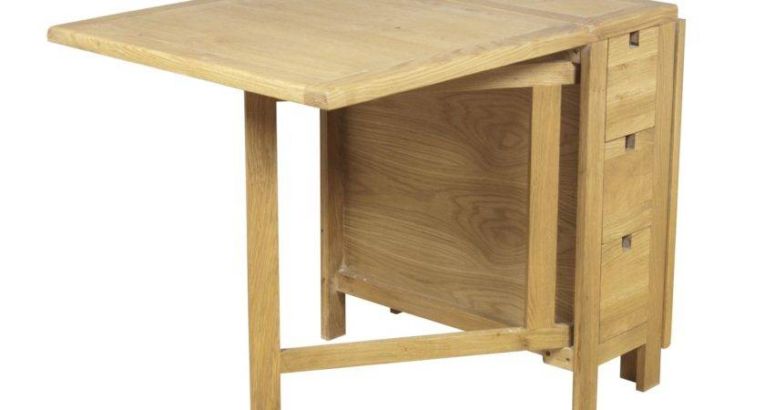 Adorable Drop Leaf Table Chair Storage Homesfeed