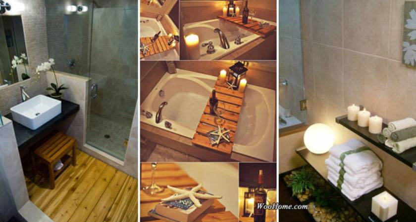 Affordable Decorating Ideas Bring Spa Style Your
