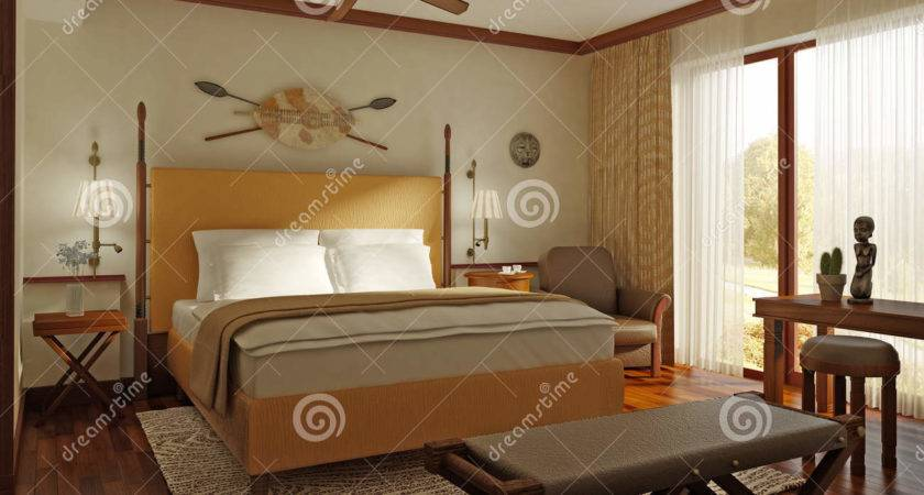 African Style Bedroom Photos