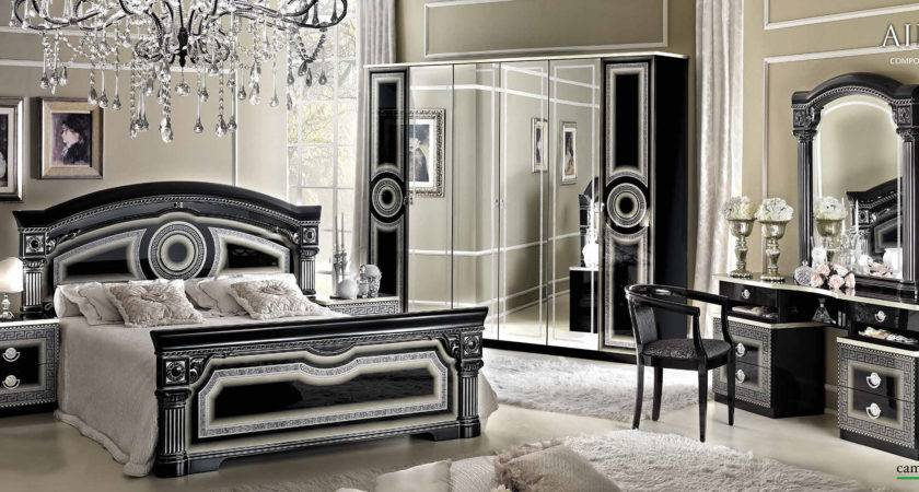 Aida Black Silver Camelgroup Italy Classic Bedrooms