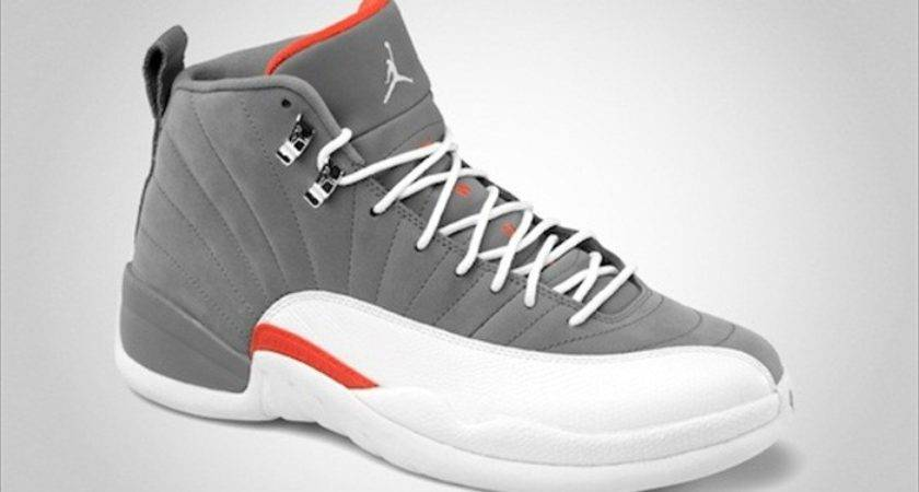 Air Jordan Retro Cool Grey Orange Shoes