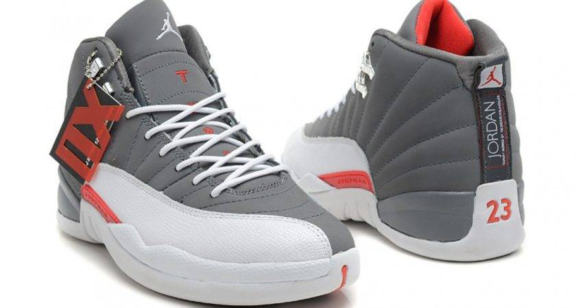 Air Jordan Retro Cool Grey Total Orange White