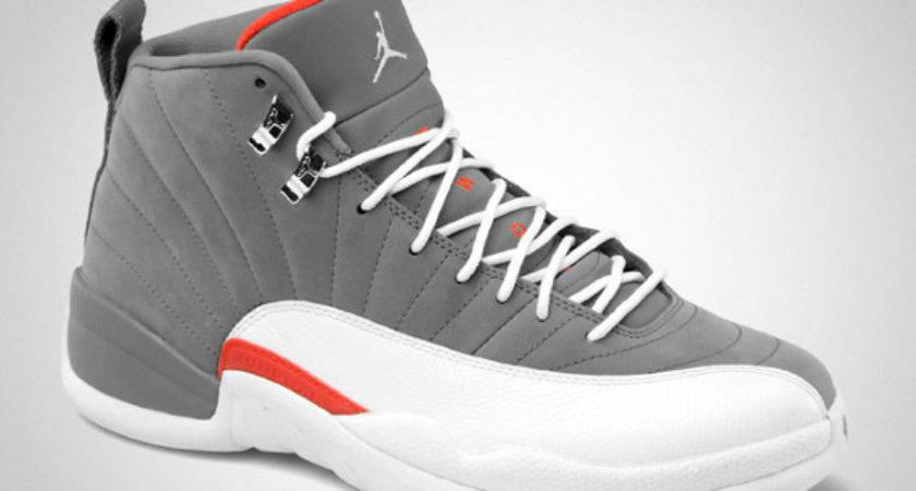 Air Jordan Xii Cool Grey White Team Oranges Gumbomonster