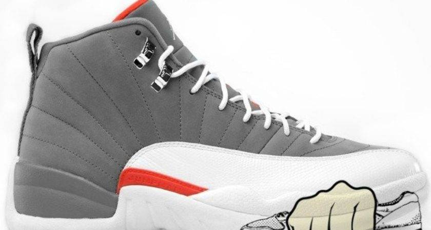 Air Jordan Xii Retro Cool Grey White Team Orange