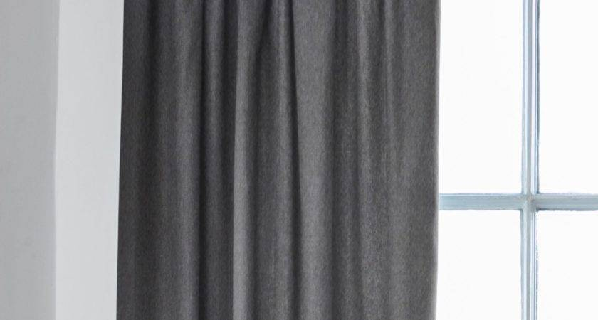 Alaska Slate Grey Curtains