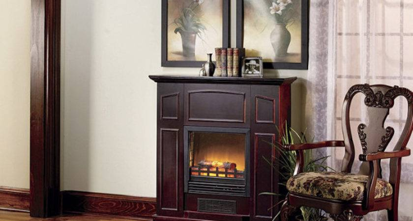 Alcove Franklin Electric Fireplace Heater Mantel