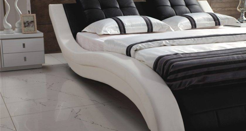 Aliexpress Buy Luxury Bedroom Furniture Leather Bed