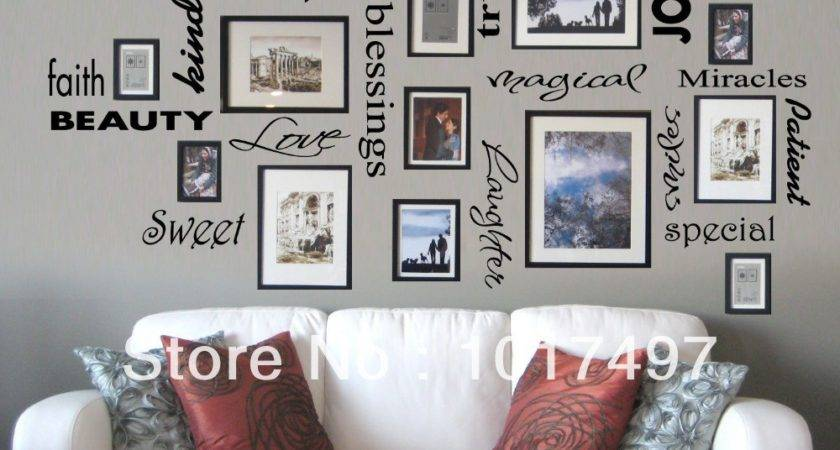 Aliexpress Buy New York London Paris Quote Wall
