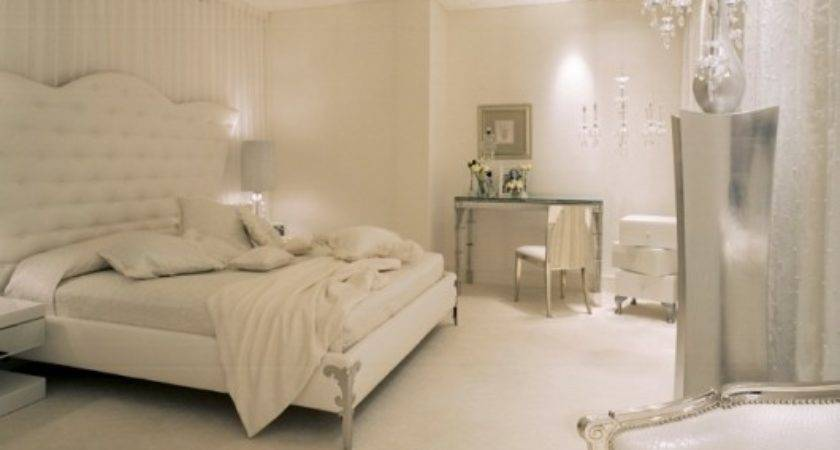 All White Master Bedrooms