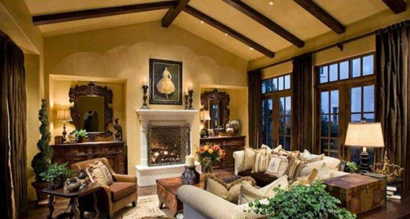 Amazing Best Luxury Rustic House Interior Decor Rus