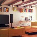 Amazing Furniture Small Apartments Functional