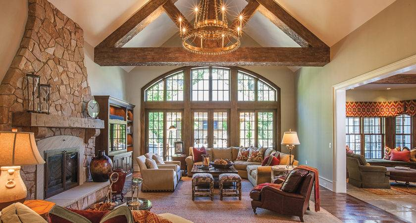 Amazing Stunning Grand Salon Rustic Interior Desi