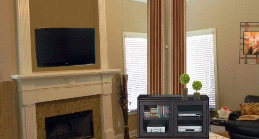 Another Two Story Great Room Makeover Blulabel