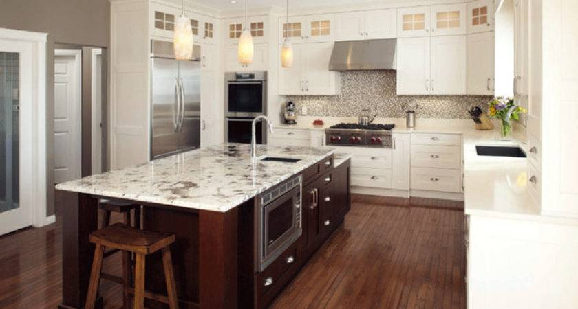 Antique White Transitional Style Kitchen Modern
