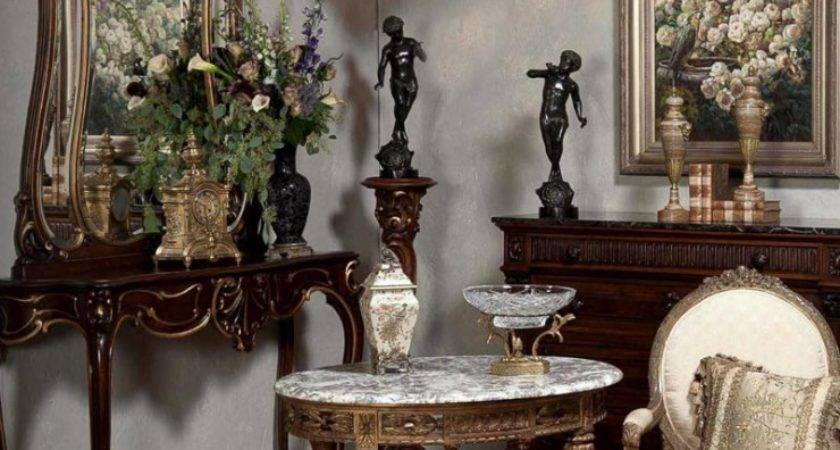 Antiques Style Mirrors Reflections Beauty