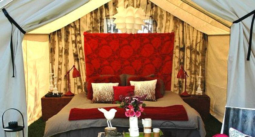 Anyone Can Decorate Glamping Putting Bit Glamour