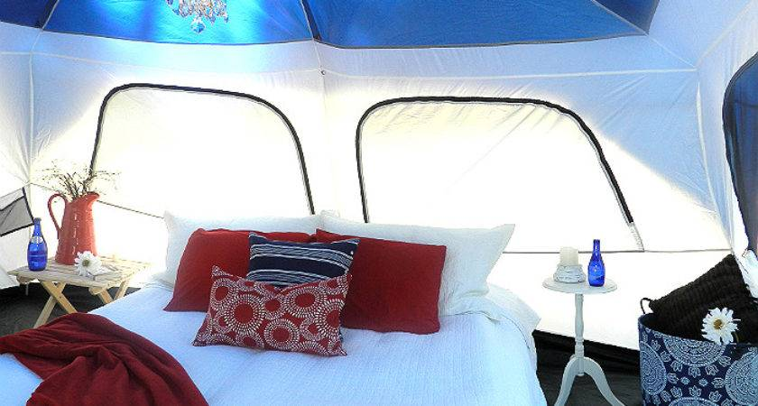 Anyone Can Decorate Glamping