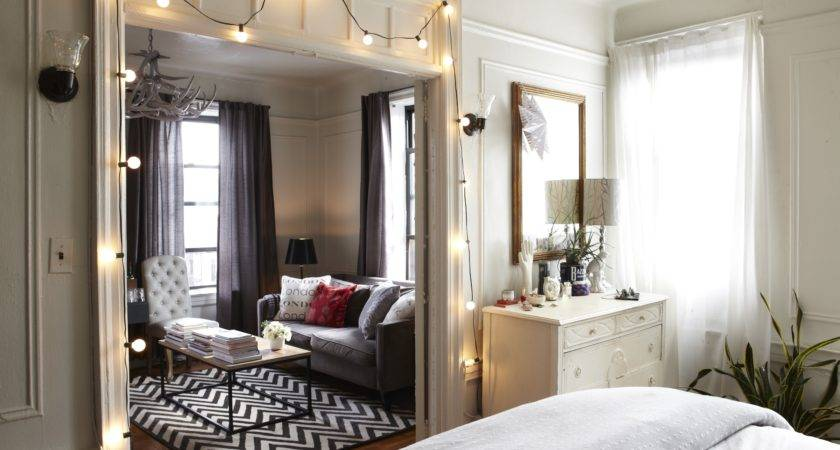 Apartment Bedroom Nyc Small Apartments Pinterest
