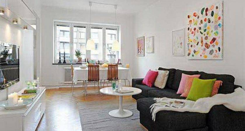 Apartment Colorful Small Living Room Ideas