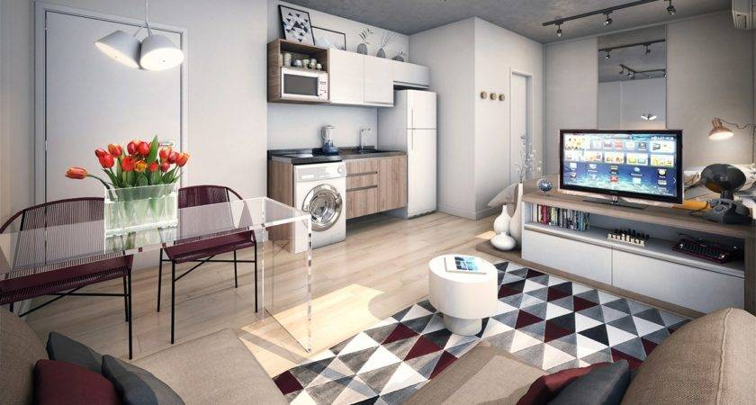 Apartments Geometric Studio Apartment Decor Best