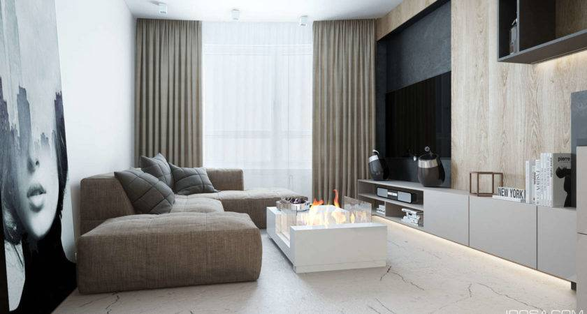 Approachable Take Luxury Apartment Design