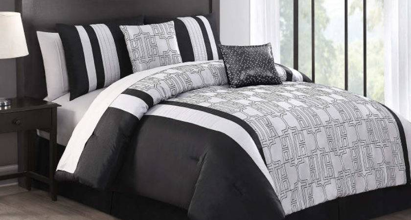 Aprima Alchemy Silver Black Piece Comforter Sets