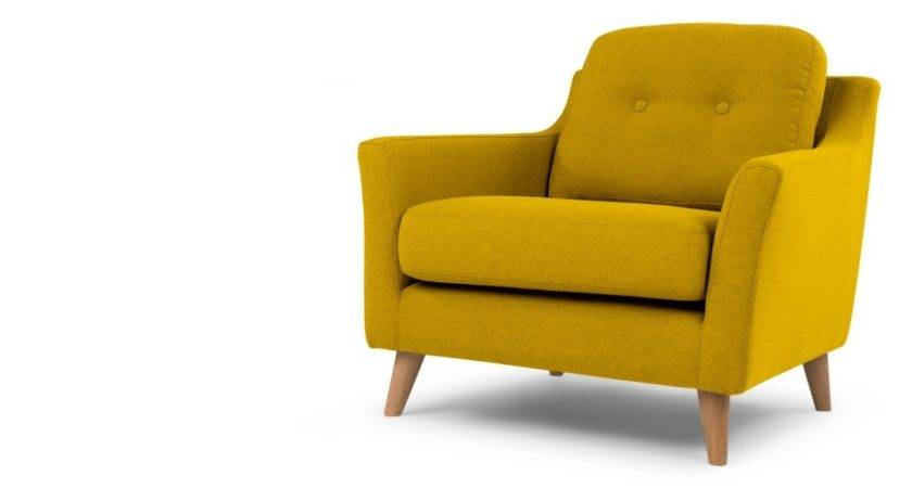 Armchair Mustard Yellow Rufus Made