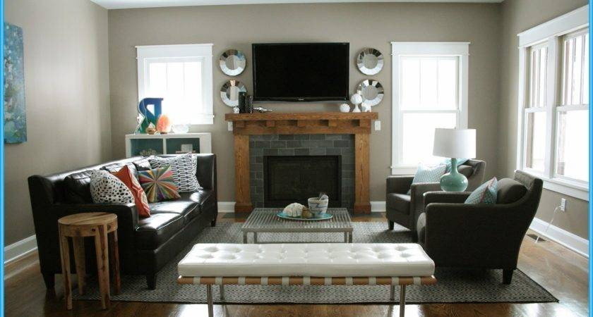 Arranging Furniture Small Living Room Fireplace