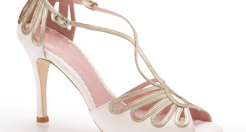 Art Deco Wedding Shoes Weddings