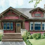 Arts Crafts Style Homes Floor Plans