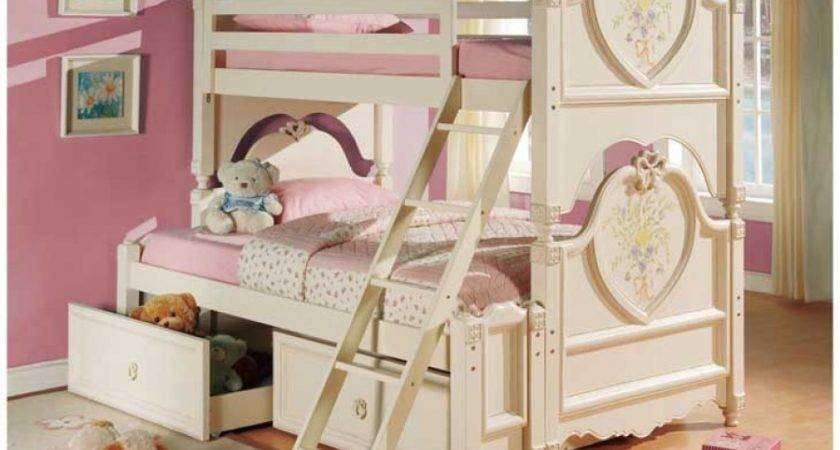 Awesome Beds Affordable Really Cool Girls White