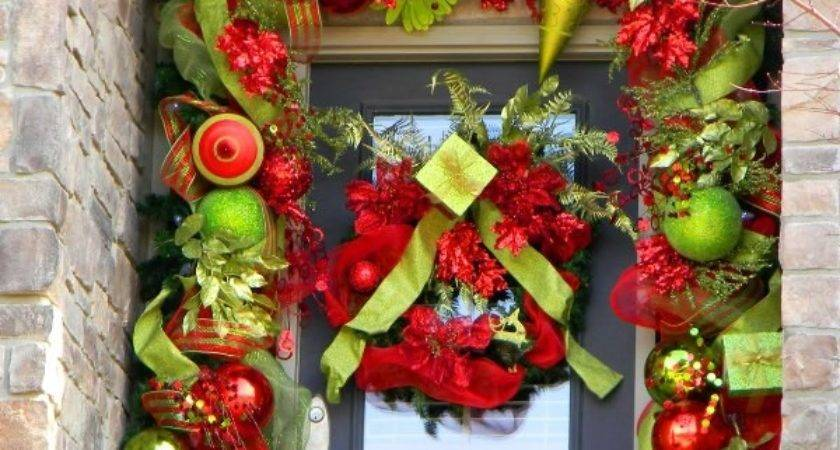Awesome Front Door Christmas Decorating Ideas Home Holic