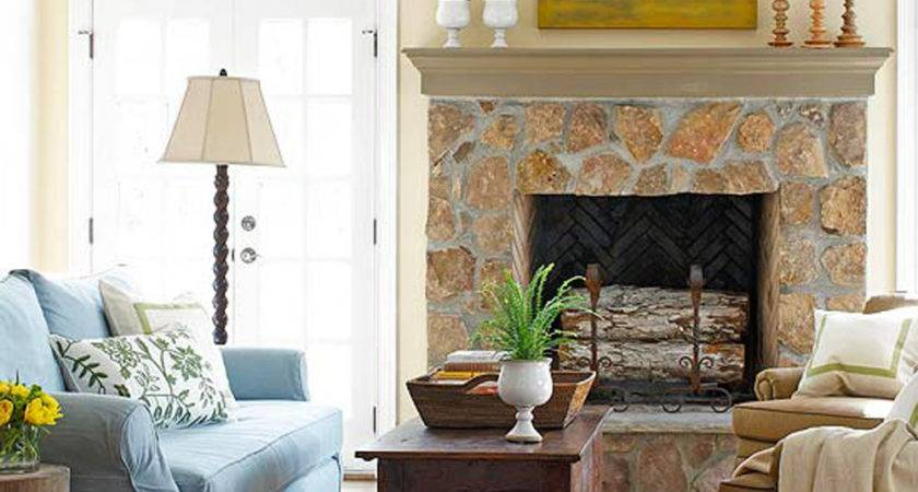 Awesome Over Fireplace Decor Traditional