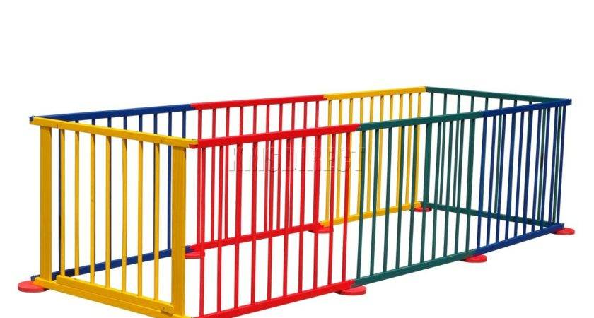 Baby Children Wooden Foldable Playpen Play Pen Room