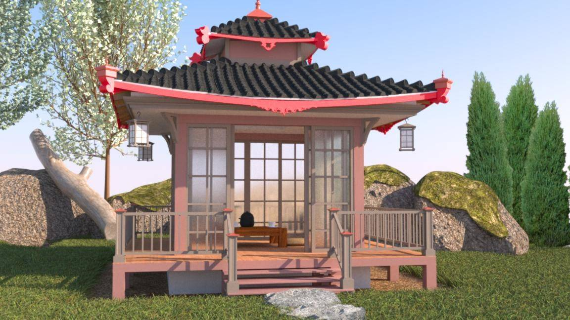 21 Perfect Images Backyard Pagoda Pictures - Barb Homes