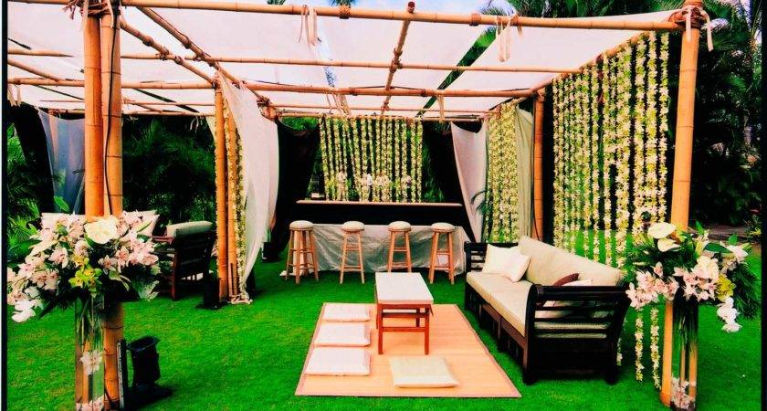 Backyard Wedding Decoration Ideas Design House Also