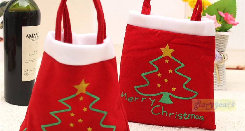 Bag Hot Sale Outdoor Merry Christmas Tree Candy Hand