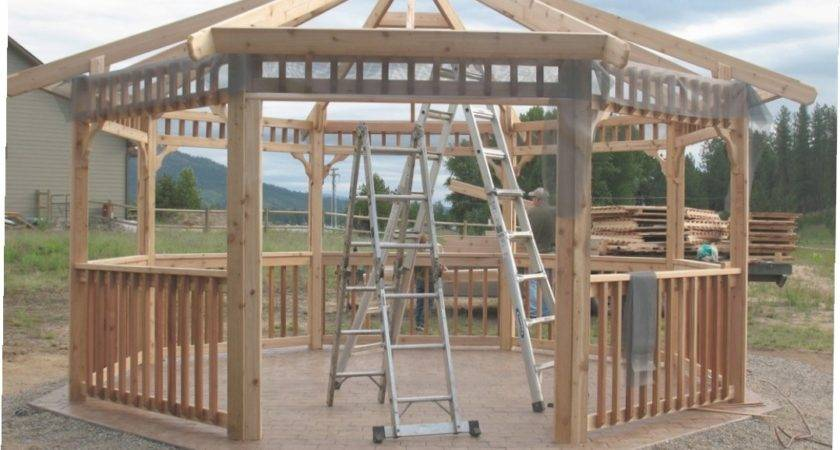 Bamboo Gazebo Kit Ideas