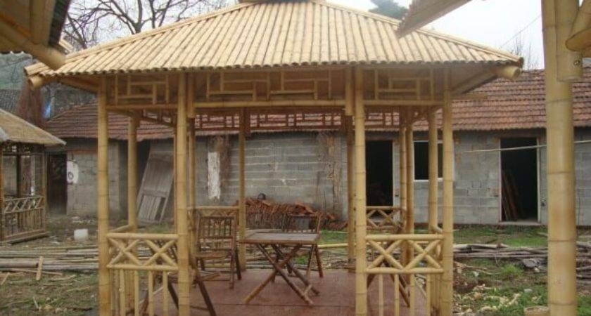 Bamboo Hut Gazebo