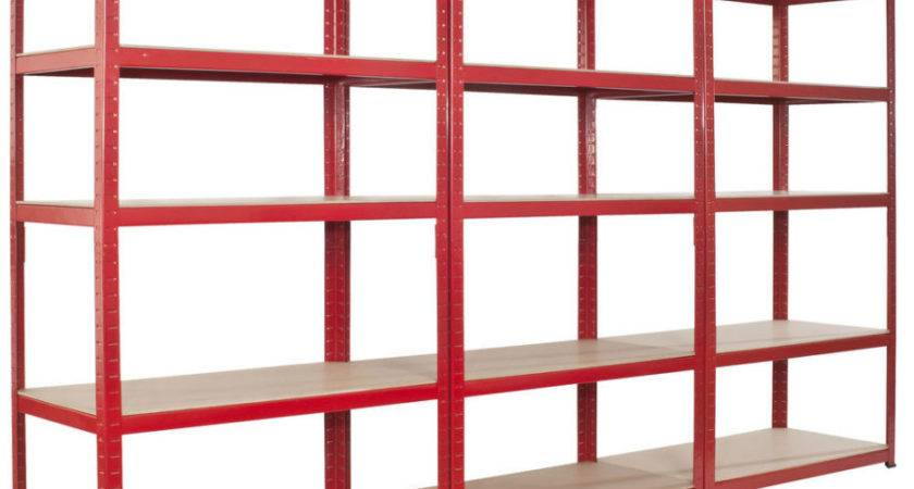 Basement Perfect Standing Red Wooden Multiple