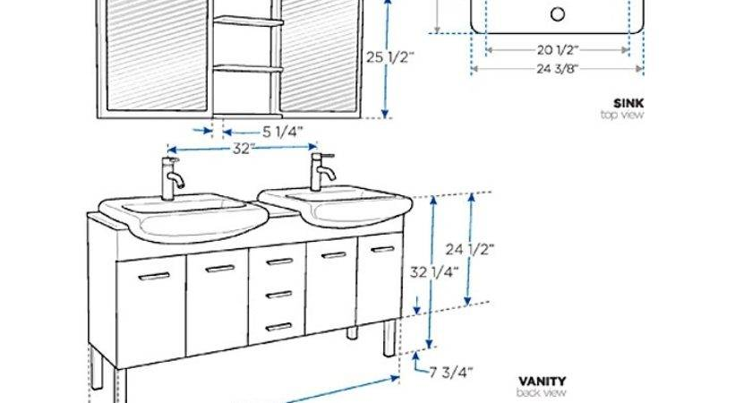 Bathroom Cabinet Height Above Sink Cabinets