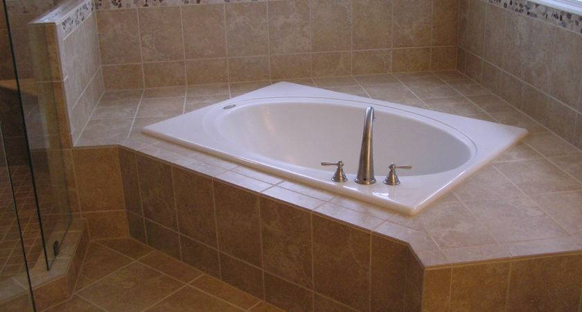 Bathroom Modern Small Corner Whirlpool Bath Tub