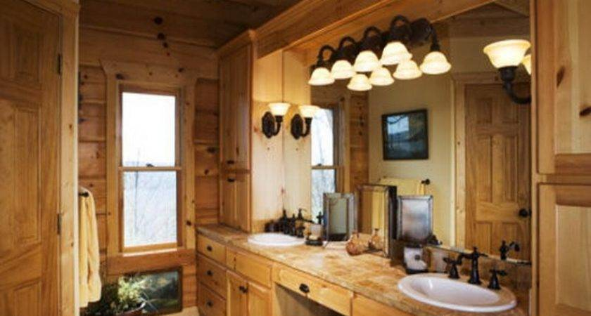 Bathroom Rustic Design Ideas