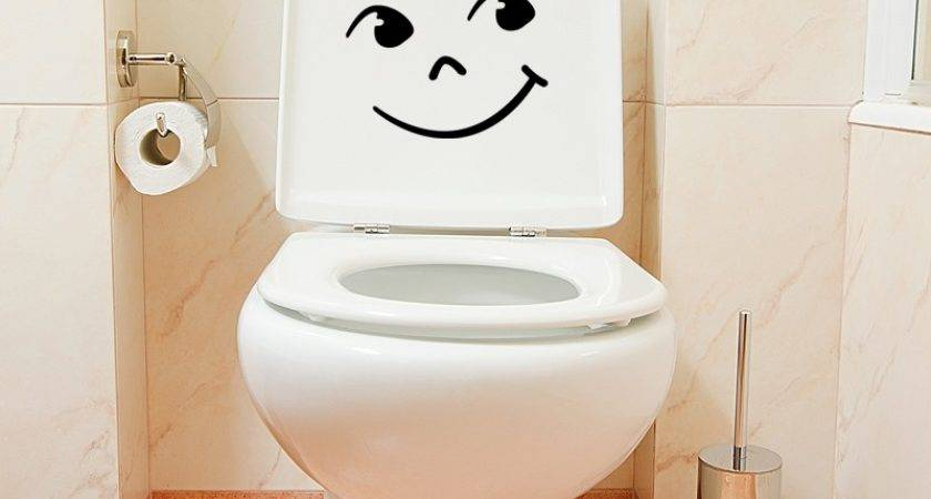 Bathroom Wall Decals Decal Funny Smile Ambiance